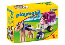 Playmobil 123 ® 9390 carriole avec cheval / Neuf - New - nuevo