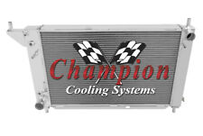 Champion 3 Row Aluminum Radiator CC1775 For 1996 Ford Mustang