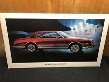 Chevrolet Monte Carlo Ss 1983 Metallic Dark Red 1:43 Neoscale NEO44806 Model