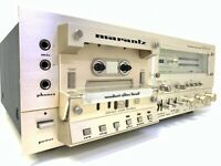 MARANTZ SD-6020 Stereo Cassette Deck 2 Motor 2 Speed Vintage 1981 HiEnd Like NEW