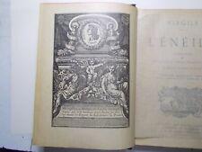 Livre VIRGILE - L'ÉNÉIDE  Traduction de  DESFONTAINES  D'après l'édition de 1743