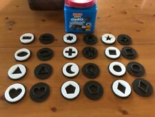 Fisher Price Oreo Matchin Middles Shape Matching Game COMPLETE 12 COOKIES 24 PCS