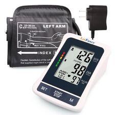 Auto Digital High Arm Blood Pressure Monitor BP Cuff Gauge Machine Test Adapter