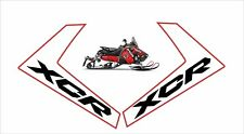 POLARIS HOOD side L decal GRAPHIC WRAP 800 600 XCR AXYS LOGO RUSH SWITCHBACK red