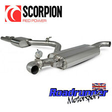 Scorpion Audi TT RS MK2 Coupe Exhaust Cat Back System 80mm Resonate VALVE SAU077