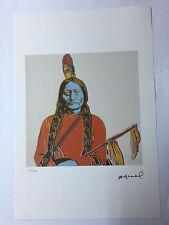 Andy Warhol Litografia 57 x 38 Arches France Timbro Secco Galleria Arte A079