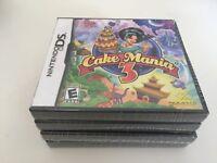 Cake Mania 3 (Nintendo DS, 2009) DS NEW