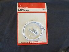 SHIMANO CABLE 3 THREE NOS SPEED TWIST GRIP THUMB or STICK SHIFT CONTROL WIRE