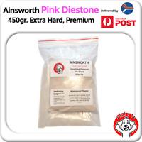 450gr Ainsworth Pink Diestone / Smooth Dental Stone Extra Hard, Waterproof