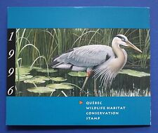 Canada (QU09As) 1996 Quebec Wildlife Habitat Conservation Stamp (MNH) CAPEX-SBA