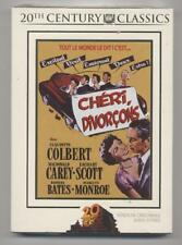 NEUF DVD CHERI DIVORCONS 1951 MARILYN MONROE COLBERT CAREY SCOTT BATES