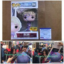 Idina Menzel Signed Queen Elsa Funko Pop Frozen 2 Wicked Rent Autograph PSA COA