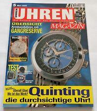 7252) Bvlgari Scuba Jaeger LeCoultre Reverso Sport Armband Uhren Magazin 1999
