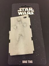 Star Wars Han Solo in Carbonite Luggage Bag Tag - Empire Strikes Back NEW!