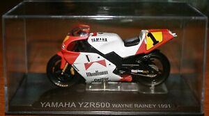 WAYNE RAINEY MARLBORO YAMAHA YZR500 1991 1:24 IXO Motorbike - Rare