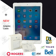 "Apple iPad Air 1st 32G A1475 MF529LL/A Wi-Fi+4G 9.7"" White UNLOCK RETINA NEW AC"
