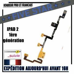 NAPPE BOUTON POWER ON/OFF VOLUME VIBREUR IPAD 2 1ère Génération AUTHENTIQUE