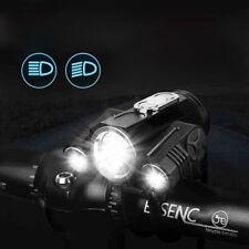 XANES 360° 400LM T6 LED Front Bike Light 4 Modes Strobe Headlamp IPX6 Waterproof