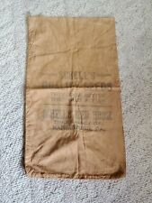 Vintage 1900s Schells Quality Ssed House Feedsack Harrisburg Pa