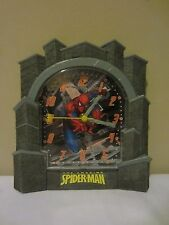 The Amazing Spider-Man Marvel Comic Spiderman Plastic Hanging Wall Clock