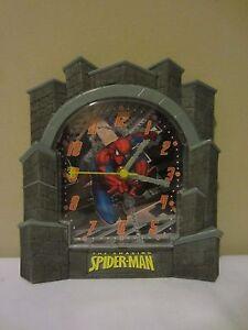 The Amazing Spider-Man Marvel Comic Spiderman Plastic Hanging Wall Clock