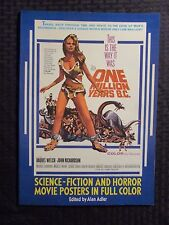 1977 SCIENCE-FICTION AND HORROR Posters In Full Color by Alan Alder SC VF- Dover