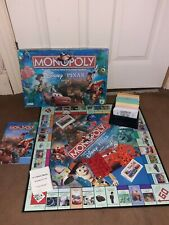 Disney Pixar Monopoly game 2007 Toy Story Monsters Inc Ratatouille Cars The Incr