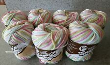 Lily Sugar N Cream Cotton Yarn Ombre and Solid 9 Different Colors