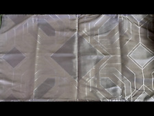HOTEL COLLECTION EMBROIDERED DIAMOND KING SHAM GREY CONTEMPORARY PATTERN NOOP