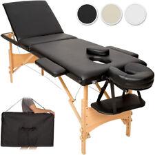 Mobile Massageliege Massagetisch Massagebank 3 Zonen klappbar + Tasche NEU