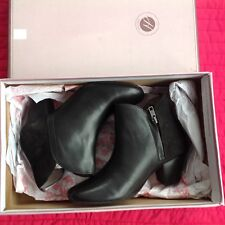 Hudson Leather Ankle Boots 4uk, BNIB, Authentic