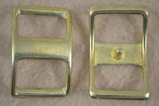 "Buckle - Conway - 1"" - Solid Brass - Pack of 4 (F139)"