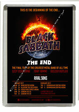 Black Sabbath  - The End  - Fridge Magnet Jumbo 90mm x 60mm Size