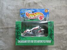 1999 HOT WHEELS SPECIAL EDITION CHICAGO TOYS TOTS MOTORCYCLE HARLEY #24877