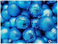 Eisblaue Christbaumkugeln.Markenlose Christbaumschmuck Aus Kunststoff Mit Kugel Form Günstig