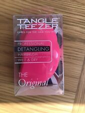 Pink Tangle Teezer Compact Styler Wet And Dry The Original.