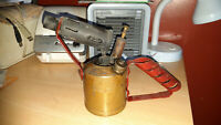 Vintage Monitor No132a Brass Blow Torch (untested)