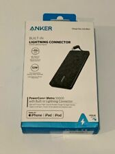 Anker Powercore+ Metro 10000 mAh Portable Charger w/ Built-in Lightning 🔱