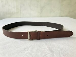 Authentic Dunhill Reversible Leather Belt