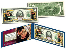 **New* GONE WITH THE WIND *O'Hara & Butler* Legal GIFT U.S.$2 Bill *LICENSED*
