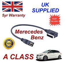 MERCEDES BENZ CLASSE MP3 MEMORY STICK Cavo USB Media Interface