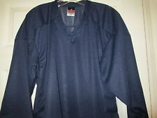 Alleson Athletic Team Navy Blue Hockey Jersey New Mens SMALL