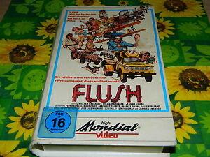 FLUSH - Sally Kirkland - Mondial Video - Erstauflage - VHS