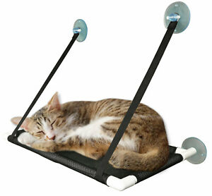 Cat Window Perch Hammock Seat Bed for Large Cats Suction Cups Space Saving
