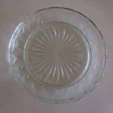 Plat assiette en verre art-déco art nouveau