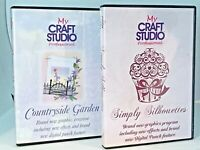 My Craft Studio Professional - Countryside Garden & Simply Silhouettes
