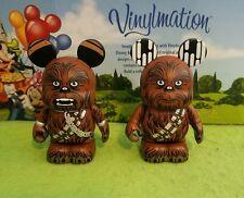 "DISNEY Vinylmation 3"" Park Set 4 Star Wars Chewbacca Eachez Variant & Non Lot"