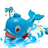 Ee _ Delfín Juguete Squirt Agua Pez Nadar Océano Juego Bebé Niños Baño Flotar