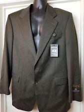 Savile Row Men's 43R Two Button Blazer Sport Coat Wool Collection Connaisseur