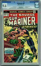 SUB-MARINER 68 CGC 9.6 PETER PARKER SPIDER-MAN 1st CARL WALKER FORCE MARVEL